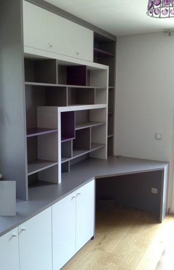am nagement placard sur mesure en m lamin 28. Black Bedroom Furniture Sets. Home Design Ideas